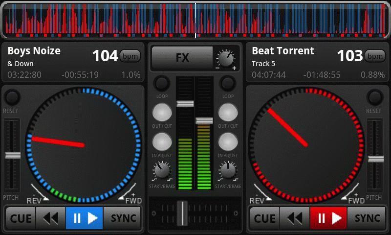 DJ Studio voor Android